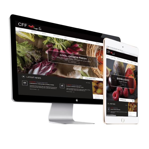 Country Fresh Foods Website